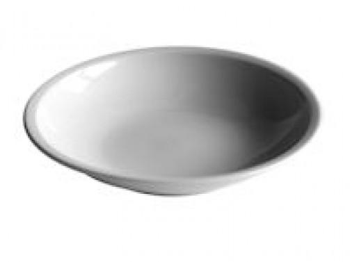 tiefer Teller, 21cm Ø, weiß