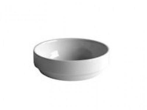 Dessertschale, 12cm Ø, weiß