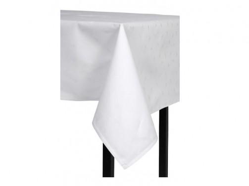 Tischdecke, weiß 1,80 x 1,80 m