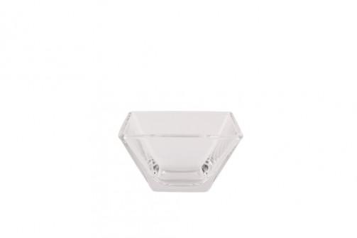 Glasschale 8 x 8 cm, H: 4,5 cm