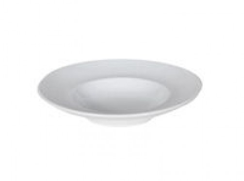 Gourmetteller, tief, 18cm Ø, weiß
