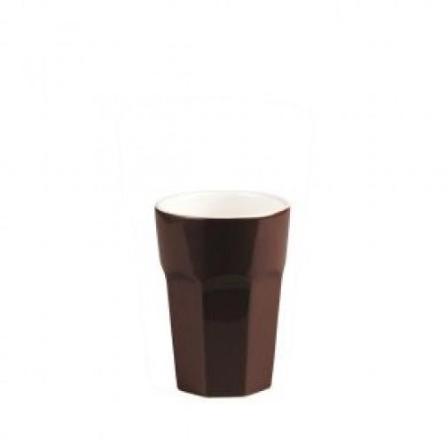 Espressobecher, braun, 0,1l,