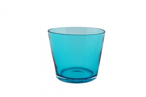 Glas DIOD türkis, 7,5cm hoch