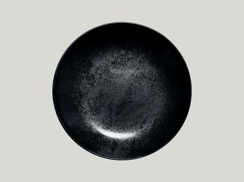 Tiefer Teller, 23 cm Ø, Karbon