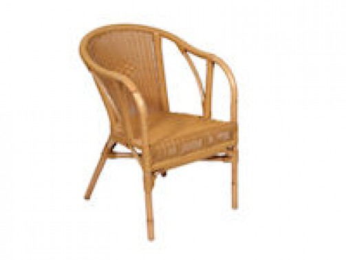 Rattansessel *Matri*, Kunststoff, (für outdoor Bestuhlung) incl. Sitzpolster